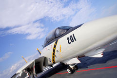 14个航空器美国f Tomcat 免版税库存图片