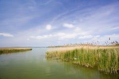 14个balaton湖系列 库存照片