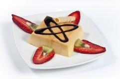 14乳蛋糕 图库摄影