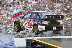 14冠军全球7月nascar rallycross 免版税库存图片