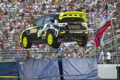 14冠军全球7月nascar rallycross 库存照片