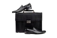 14双袋子鞋子 免版税库存图片