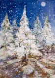 14圣诞树 图库摄影