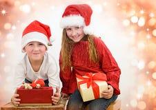 14圣诞老人 库存照片