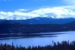 14多雪的山 库存照片
