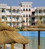 14家旅馆hurghada 免版税图库摄影