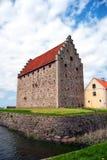 14座城堡glimmingehus 免版税库存图片