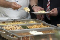 14排列食物 免版税库存照片