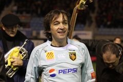 14比亚利兹cali法国橄榄球顶层usap与 免版税库存照片