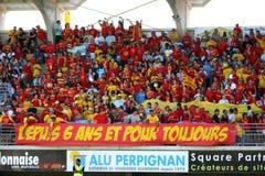 14符合橄榄球stade顶层toulousain usap与 免版税库存图片