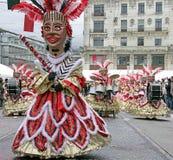 14 καρναβάλι Ελβετός Στοκ εικόνες με δικαίωμα ελεύθερης χρήσης