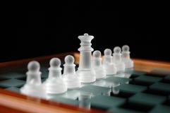 14 κομμάτια σκακιού Στοκ Εικόνα