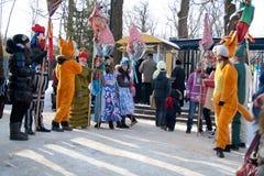 14 Φεβρουαρίου Penza Ρωσία Στοκ Φωτογραφία