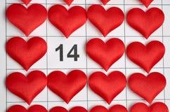 14-ое февраля Стоковые Изображения