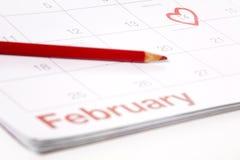 14-ое февраля Стоковые Фотографии RF