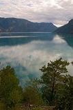 14 2008 fiords Νορβηγία Στοκ Εικόνες