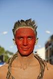 14 2010个每年狂欢节s 2月法属圭亚那 免版税图库摄影