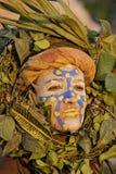 14 2010个每年狂欢节s 2月法属圭亚那 免版税库存照片