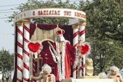 14 2010年狂欢节2月利马索尔游行 免版税库存照片