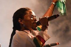 14 4月2011日节日爵士乐kriol 免版税库存图片