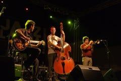 14 4月2011日节日爵士乐kriol 免版税库存照片