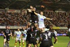 14 brive ca zapałczany rugby wierzchołka usap vs Zdjęcia Stock