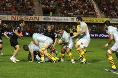 14 brive ca zapałczany rugby wierzchołka usap vs Zdjęcia Royalty Free