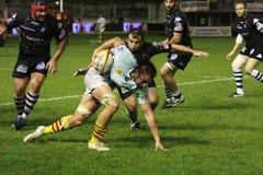 14 brive ca zapałczany rugby wierzchołka usap vs Obraz Royalty Free