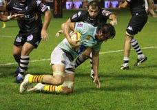 14 brive ca zapałczany rugby wierzchołka usap vs Zdjęcie Stock