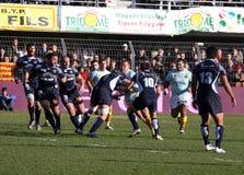14 castres ταιριάζουν με την κορυφή ράγκμπι usap εναντίον Στοκ Φωτογραφία