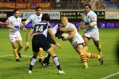 14 castres dopasowywają vs odgórnego rugby usap zdjęcie royalty free