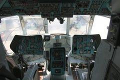 14 cockpit mi Fotografering för Bildbyråer