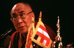 14 Dalai Lama von Tibet Stockfoto