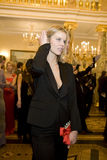 14 de febrero de 2008: Eva Herzigova Imagen de archivo