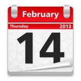 14. Februar vektor abbildung