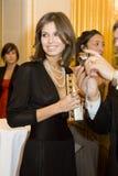 14 FEBRUARI 2008: dezigner Dasha Zhukova Stock Foto