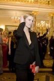 14 FEBRUARI 2008: Eva Herzigova Stock Afbeelding