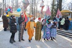 14 februari penza russia Fotografering för Bildbyråer