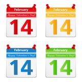 14 February Stock Photo