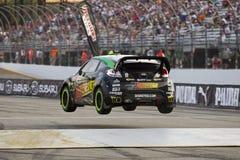 14 globala jul för mästerskap nascar rallycross Arkivbild
