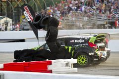 14 globala jul för mästerskap nascar rallycross Arkivbilder