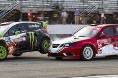 14 globala jul för mästerskap nascar rallycross Arkivfoto