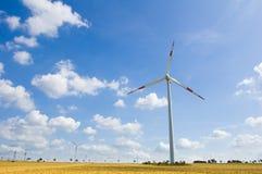 14 gospodarstw rolnych wiatr Obraz Royalty Free