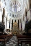 14 katedra Amiens France Zdjęcia Stock