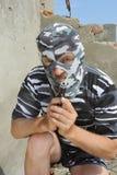 14 maskowy policjant Obraz Royalty Free