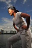 14 sportkvinnor arkivfoton