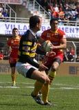 14 zapałczany montois rugby stade wierzchołka usap vs fotografia stock
