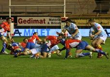 14 zapałczany Montpellier rugby wierzchołka usap vs Obrazy Stock