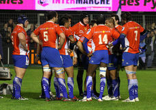 14 zapałczany Montpellier rugby wierzchołka usap vs Zdjęcie Stock