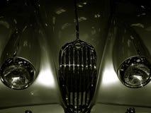 140 1957年捷豹汽车葡萄酒xk 免版税库存照片